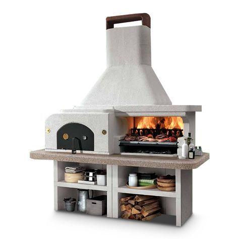 Outdoorküche Palazzetti Gargano 3 günstig online kaufen ✓ Mit Backofen + Grillrost ✓ Bezahlen mit PayPal ✓ Fachberatung