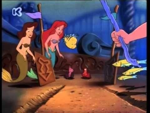 De kleine zeemeermin (de serie) - Het verhaal van de twee krabben