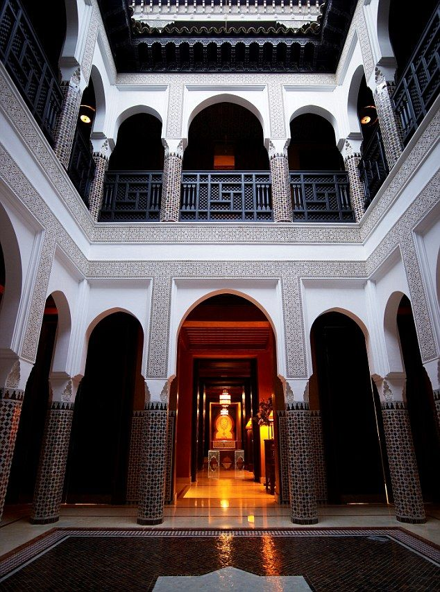 La Mamounia, Marrakech. Morocco...original opening date was 1923.  Has undergone  amjor renovation