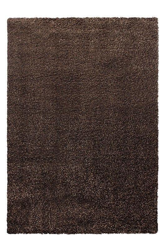 Cosy glamour vloerkleed - Esprit - bruin - 200x200