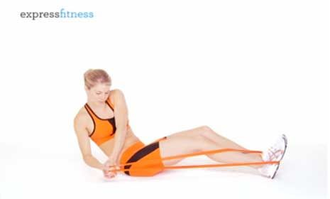 Fast Belly Blaster....these look great! Using the correct resistance band is key to make sure you feel these exercises in your Abs!