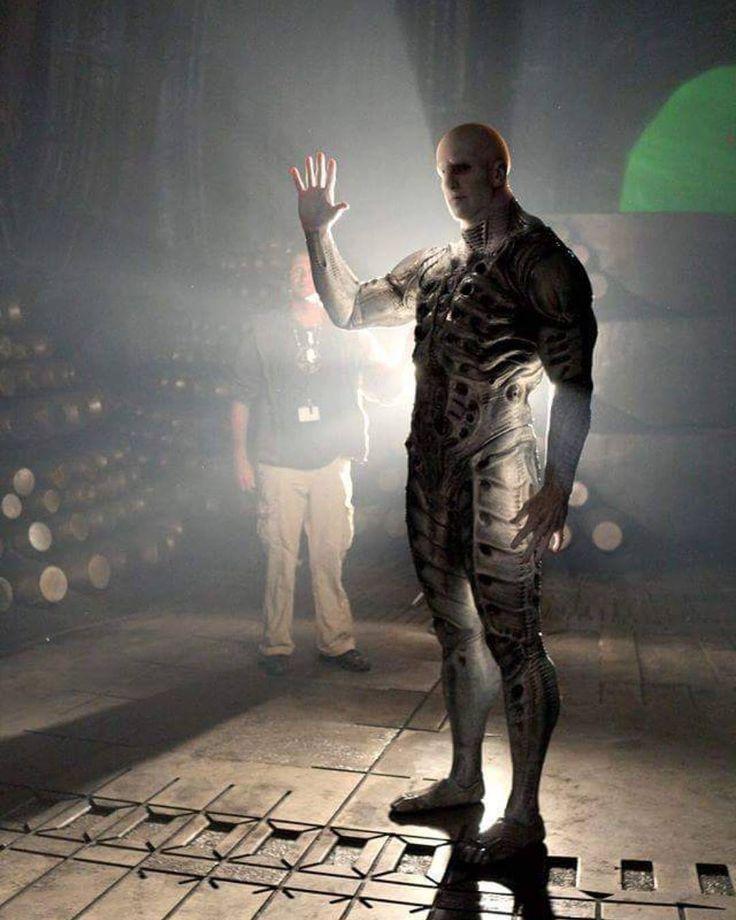 "Instagram LuisNostromoℹ(@luisnostromo): ""Ian Whyte as the engineer in Prometheus #Alien #Aliens #Xenomorph #Giger #HrGiger #SciFi #SyFy…"""