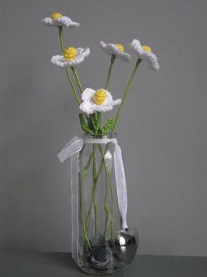 gebreide bloemen