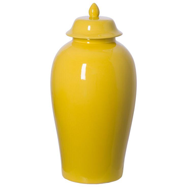 Tall Temple Jar