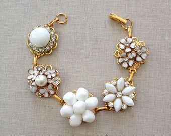 Marina 6 bracciali in corallo e oro damigella d'onore