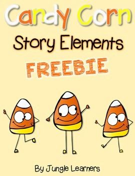 Did you know that October 30th is National Candy Corn Day!?!I'd love to help you celebrate by using this freebie in your classroom!Included are 4 different Candy Corn Story Elements to help your students think about a book they have read (or you have read together in class).