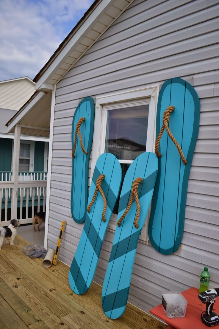 Decor You Adore: Flippin' out over beach house shutters