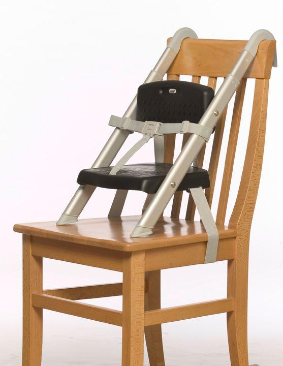 Hang ´N Seat Stoelverhoger Zwart/Chroom