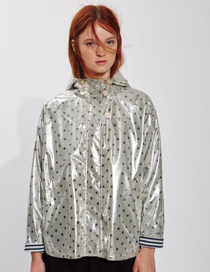 Yerse Silver Raincoat