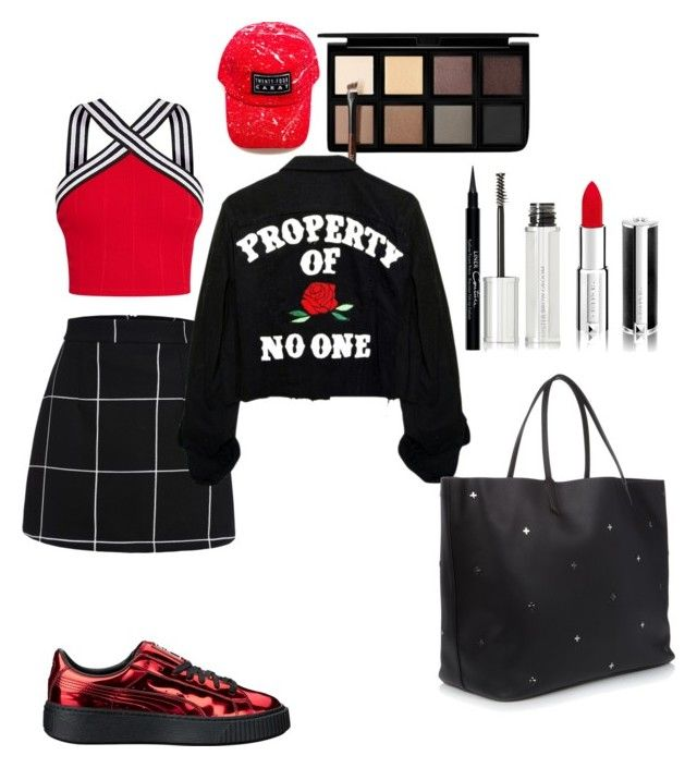 """Sexy"" by madisonkiss on Polyvore featuring Puma, Down to Earth and Givenchy"