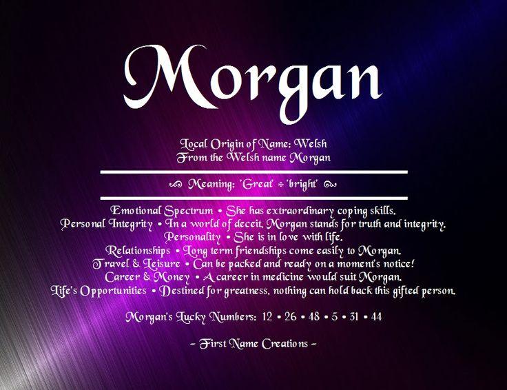morgan name definition - Google Search | Random ...