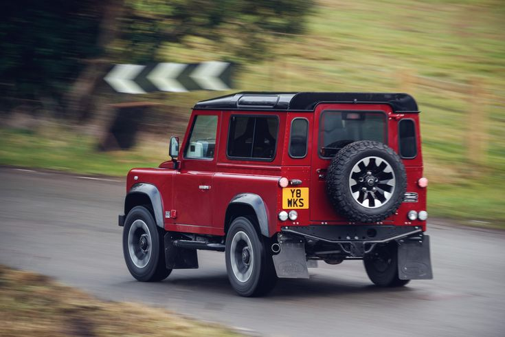 Land Rover's 70-year celebration starts with a Land Rover Defender V8 powered icon. This can only keep getting better from here.