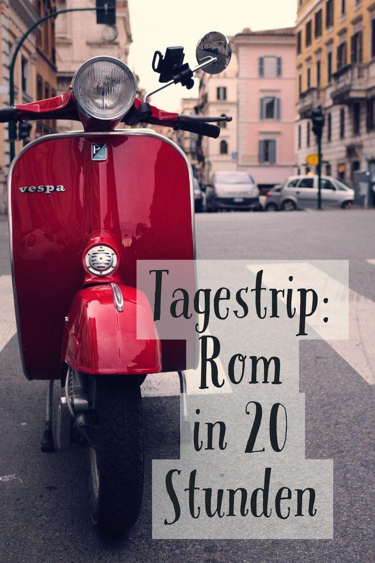 Der Tagestrip nach Rom: Spaziergänge, Eis, Domkuppeln und gutes Essen. Tipps für den perfekten Kurzurlaub.
