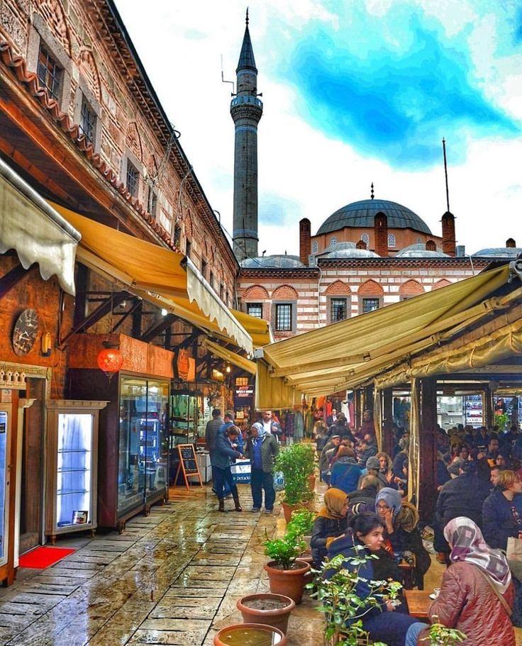@izmirajandasi  Photo by @izmirbirnefes  Kızlarağası Hanı / İzmir / Turkey