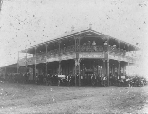 Commercial Hotel, Bulit in 1915 Harry
