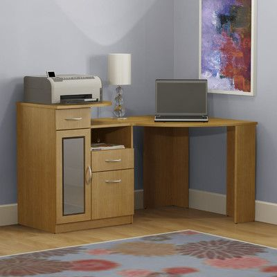 Bush Industries Vantage Computer Desk & Reviews | Wayfair
