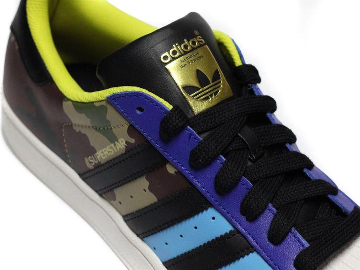 zapatillas adidas superstar camuflaje