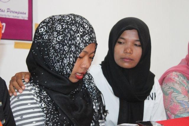 Kasus Human Traficking yang menimpah TKI Indonesia asal Kabupaten Sumbawa Nora Komalasari (19) yang telah berhasil dipulangkan oleh pihak