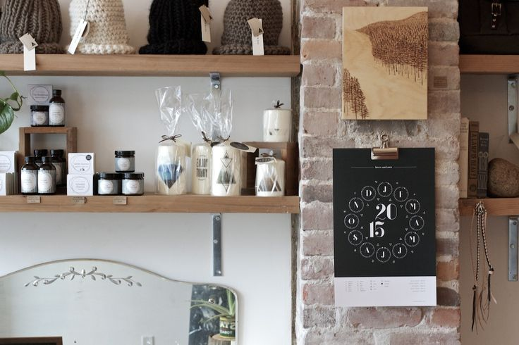 Shop display. #brickchimney #shop #handcrafted #product #display