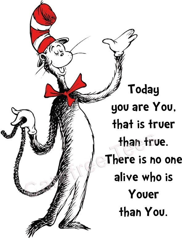 More fun than funny.Happy Birthday, Quotes 3, Fun Stuff, Wisdom, Cat In The Hat Quotes, Quotes Signs, Favorite Quotes, Dr. Seuss, Inspiration Quotes