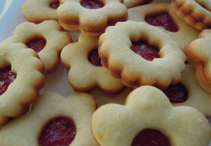Linecké - vánoční cukroví