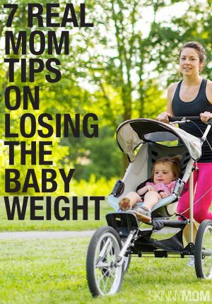 7 moms talk about losing the baby weight.