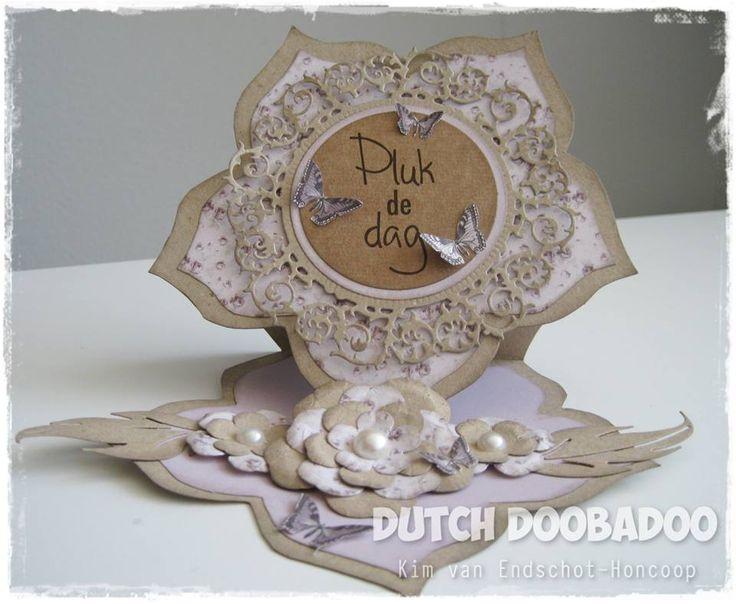 Dutch doobadoo shape art rose door kim van for 106 door cards