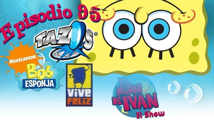 Tazos Bob Esponja Vive Feliz Frito Lays (2007) EMDI El Show Ep.95
