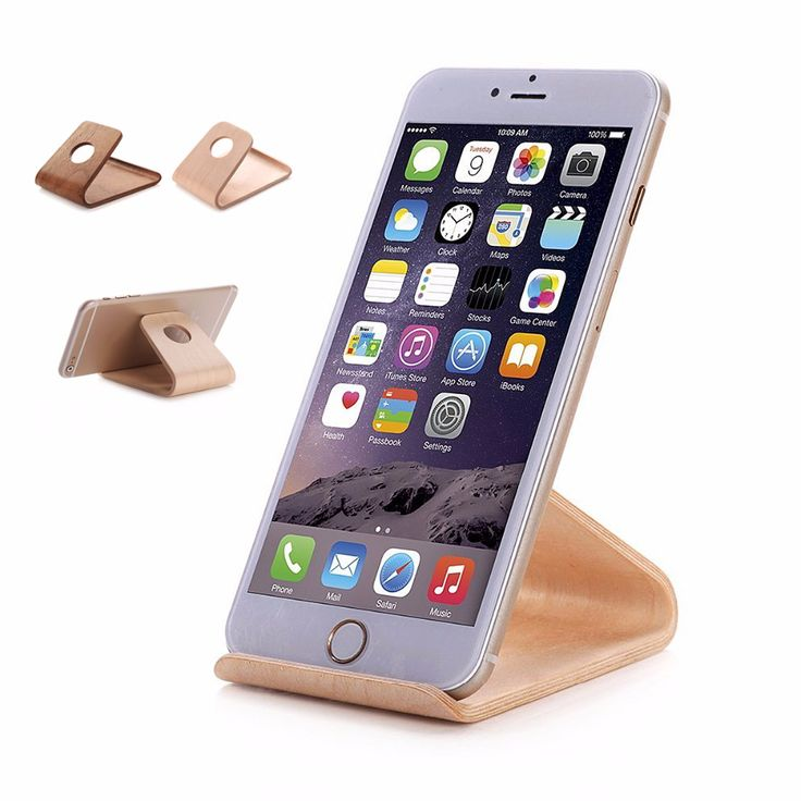New Natural Wood Desktop Stand Dock Station Holder Bracket For iPhone For Samsung Cellphone For Tablet-in Holders & Stands from Phones & Telecommunications on Aliexpress.com | Alibaba Group