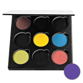 NYX Custom Pro Eyeshadow Palette, partially filled