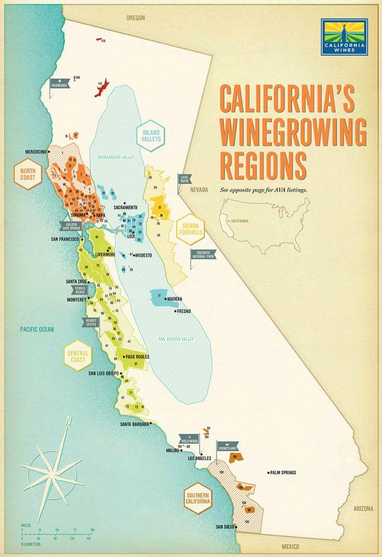 41 best WINE MAP images on Pinterest  Wine education Wine
