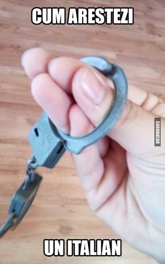 Cum arestezi un italian