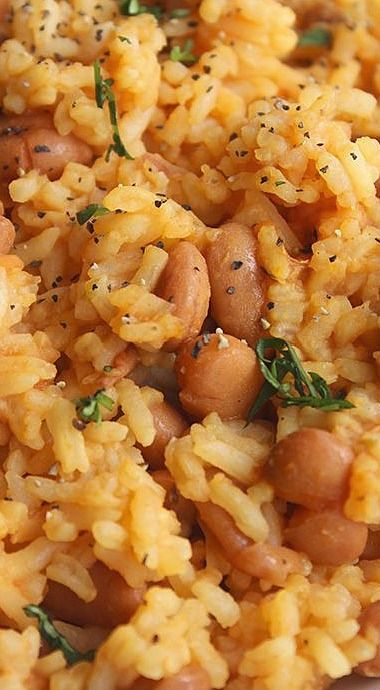 Rice and pinto bean recipes easy