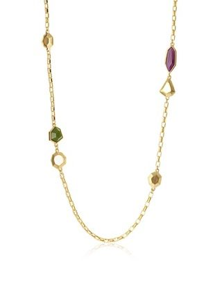 T Tahari Modern Angles Station Necklace