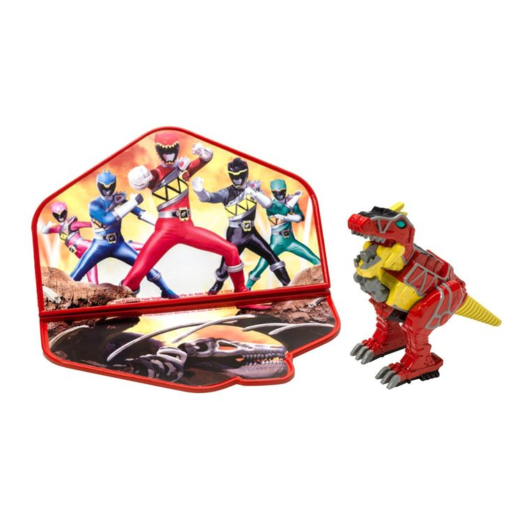 Power Rangers Dino Charge Cake Topper