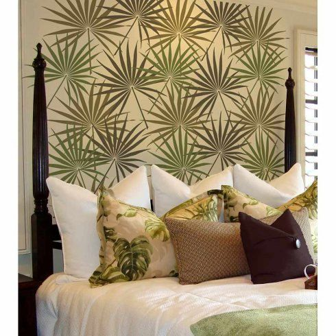 Try wall stencils instead of expensive wallpaper! Cutting Edge Stencils offers the best stencils for DIY décor - stencils expertly designed