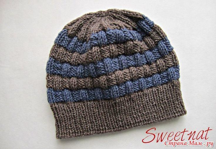Зимние комплекты, шапка и манишка для любимых мужчин - Вязание - Страна Мам