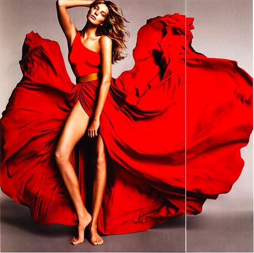 Red dress remix joan