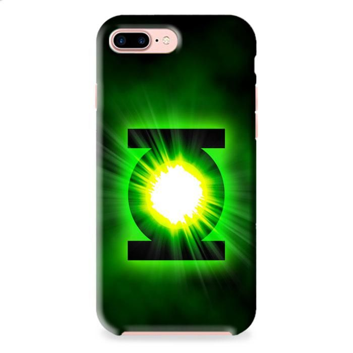 Green Lantern Power Ring Logo iPhone 7 Plus 3D Case Dewantary