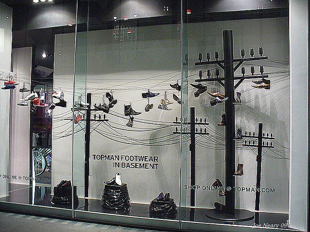 there are various reasons given for the custom of throwing trainers and shoes over telephone wires, pinned by Ton van der Veer