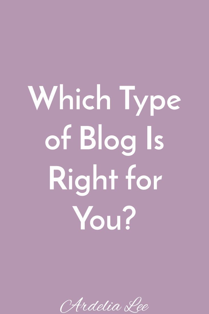 In the great blogging world, there are three common types of blogs. Each type works best for specific personalities and goals. Before you choose which type of blog you want to have, you need to get super clear on what your goals are. Click here to learn about the three common types of blogs and which one would be best for you and your long-term goals.