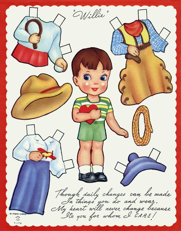 kathleen taylors dakota dreams thursday tab valentine cut out dolls