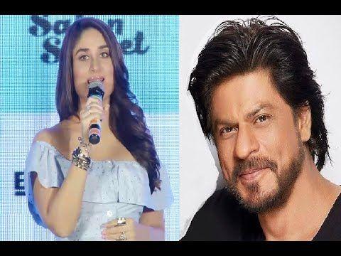 Kareena Kapoor likes Shahrukh Khan hair in bollywood.