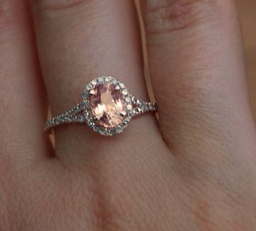 rose gold sapphire engagement rings - Google Search