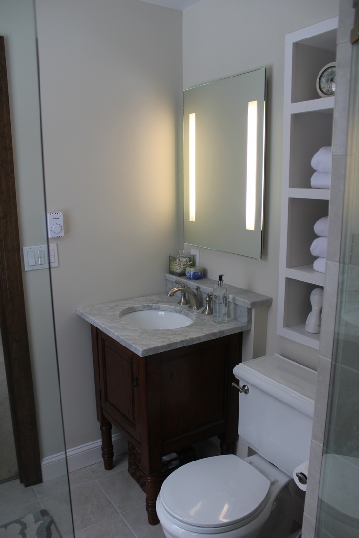 Small bathroom reno | Bathroom Ideas | Pinterest | Small ...