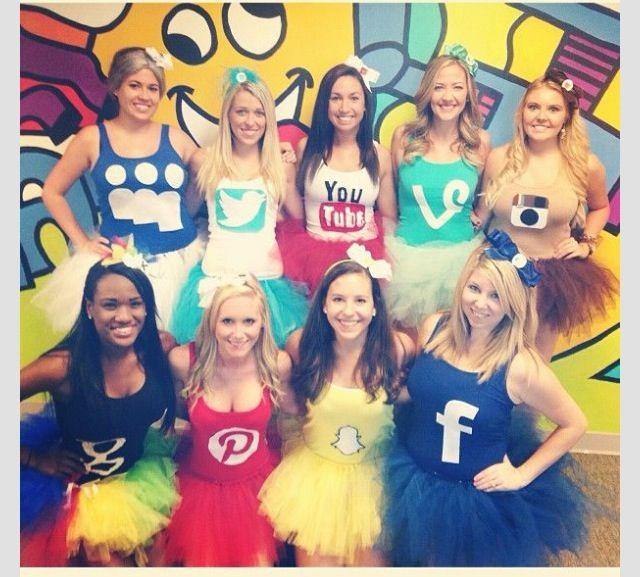 Cute idea for a group costume
