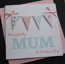 handmade mothers day cards images - Google Search