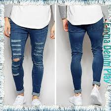 Resultado de imagen para jeans rotos hombre 2016