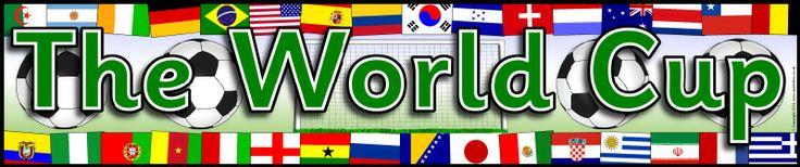 The World Cup display banner (SB10478) - SparkleBox