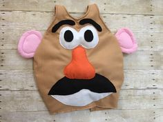 Tutorial on how to make a Mr. Potato Head Costume for under $10!!!